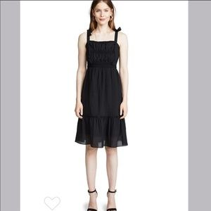 Cupcakes and Cashmere woven tie strap dress #1513